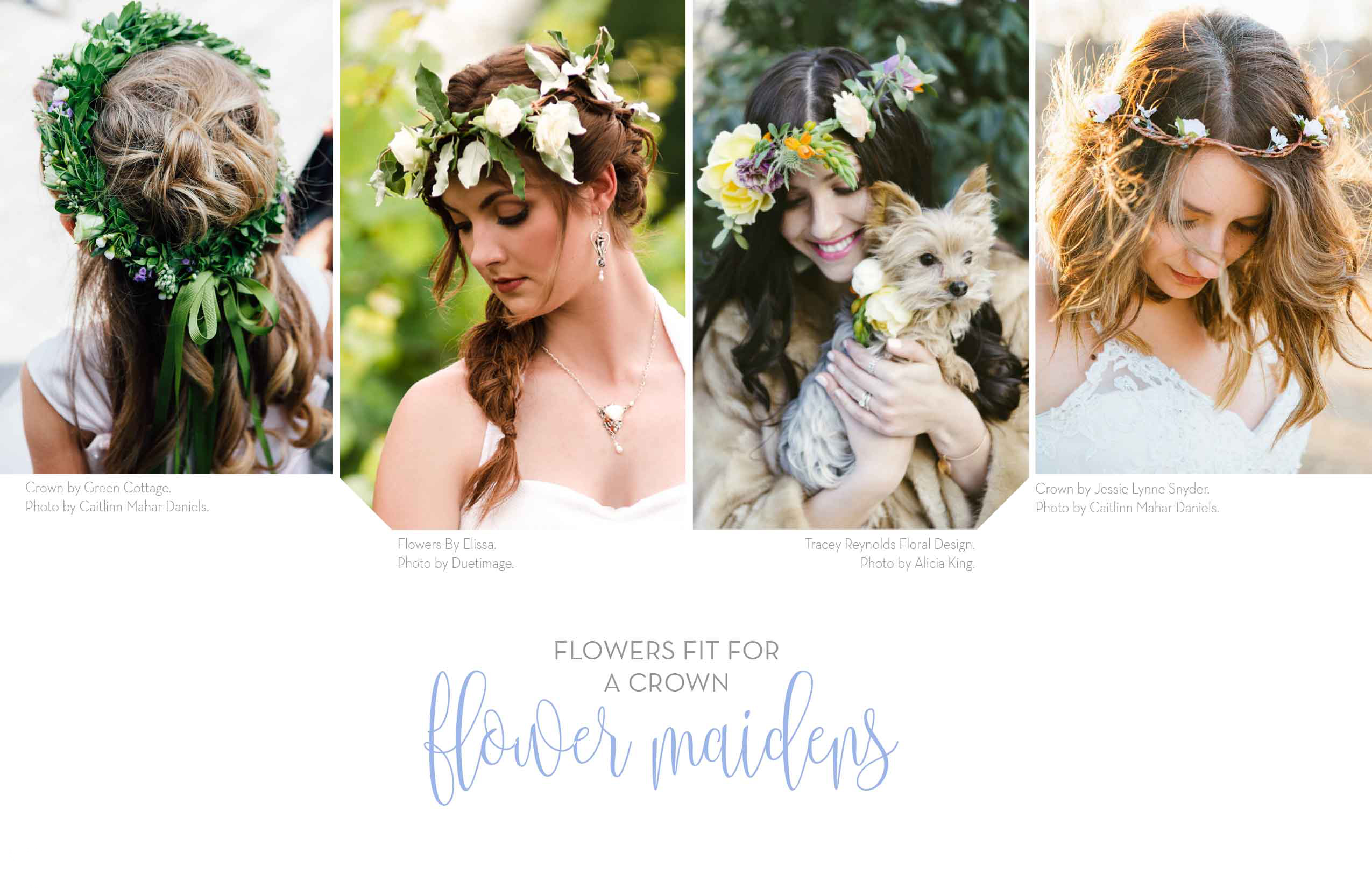 Wedding guide 2016 flowers fit for a crown flower maidens flowers fit for a crown flower maidens izmirmasajfo