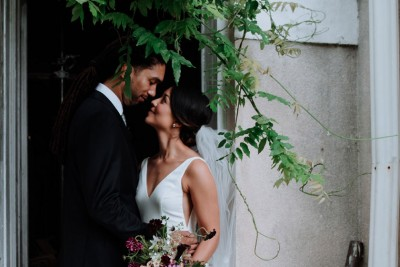 REAL WEDDING: ELLE & MICHAEL