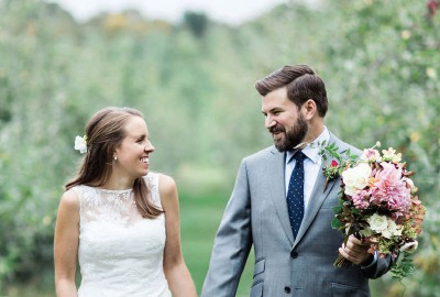 REAL LOCAL WEDDING: BETSY & PHIL