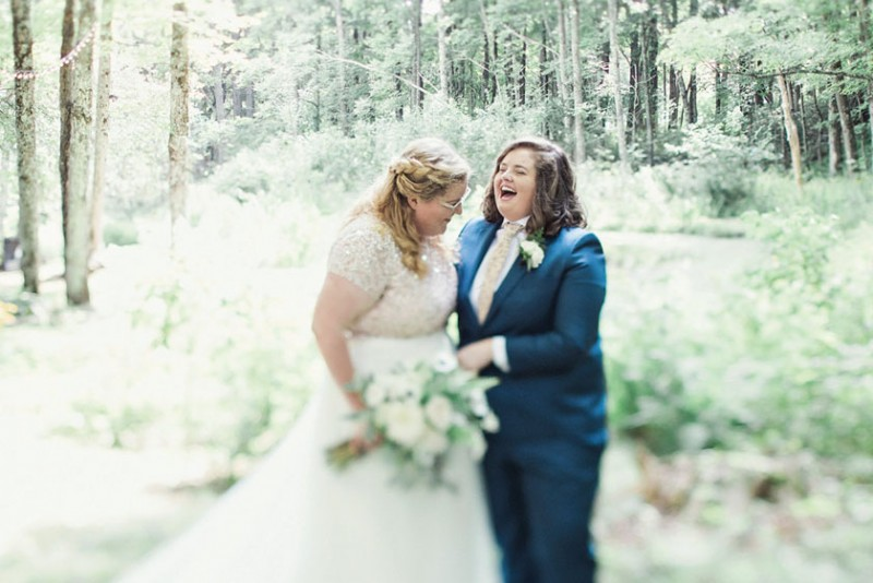 REAL WEDDING: Brigid & Caitlin
