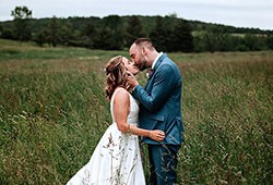REAL WEDDING : Emily & Michael